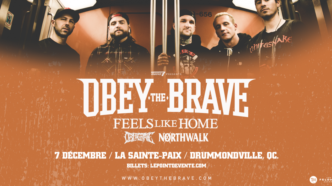 Obey The Brave / Drummondville