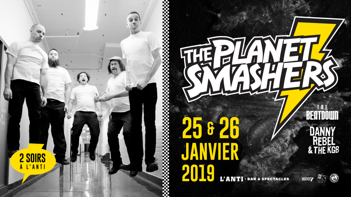 The Planet Smashers - #1