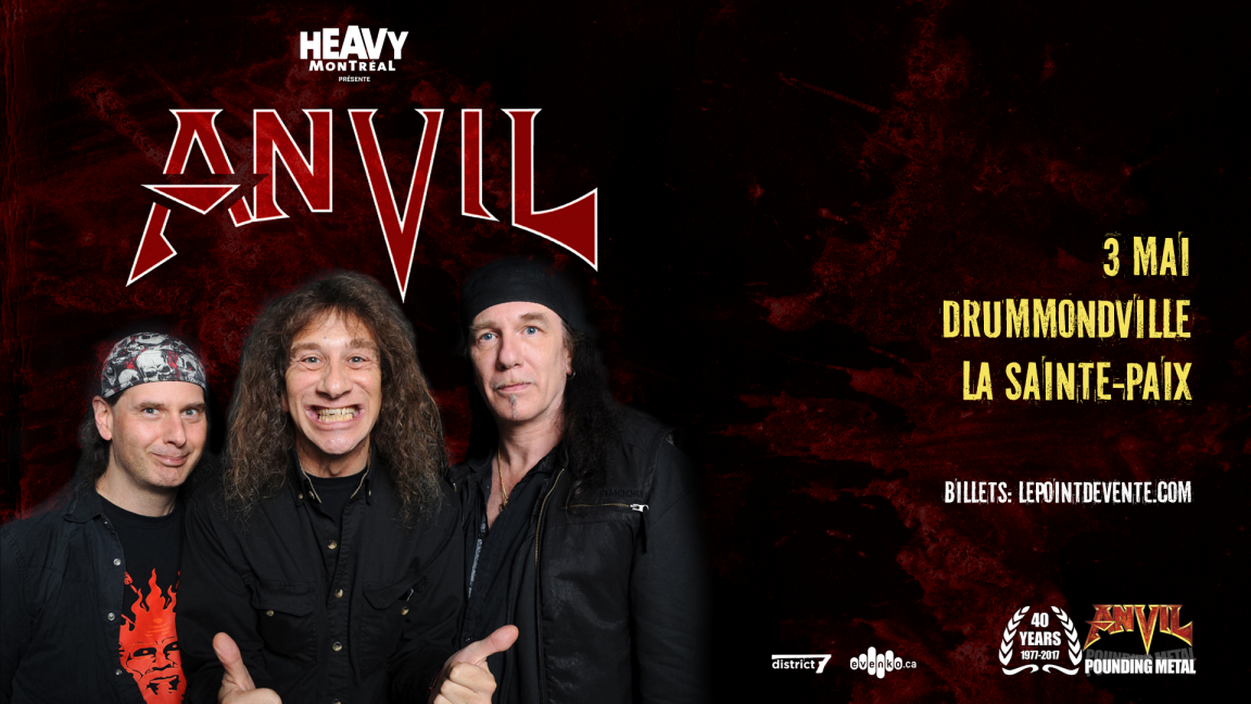 ANVIL - Drummondville