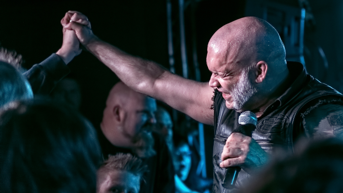 Blaze Bayley (ex Iron Maiden) avec son band British
