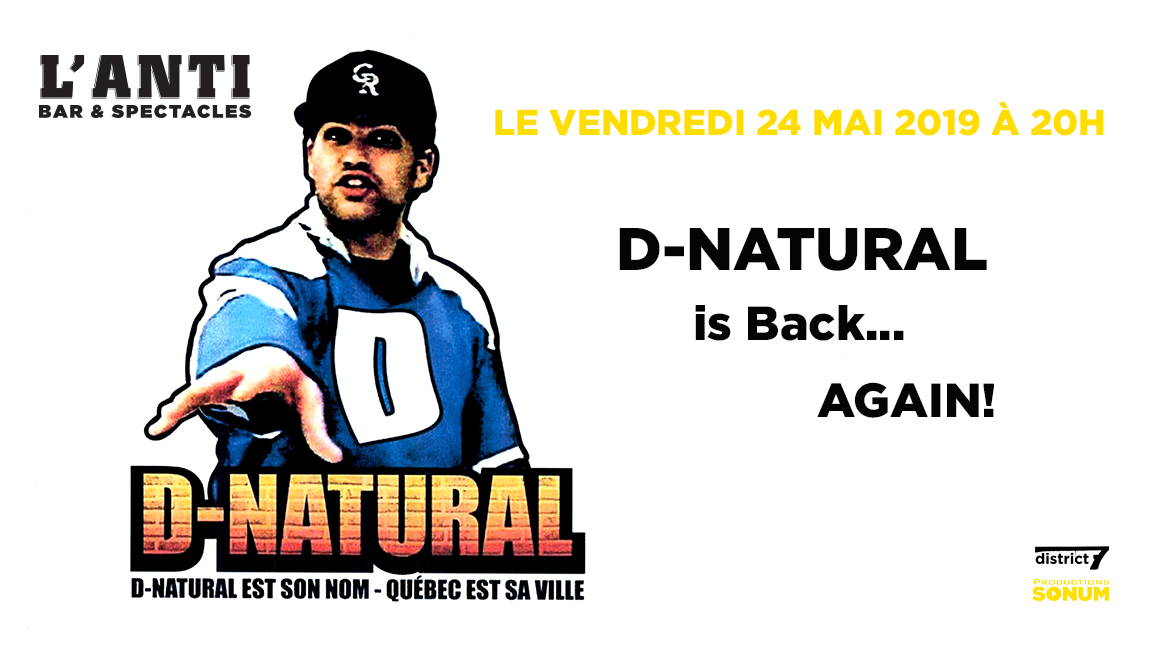 D-Natural is Back... Again!