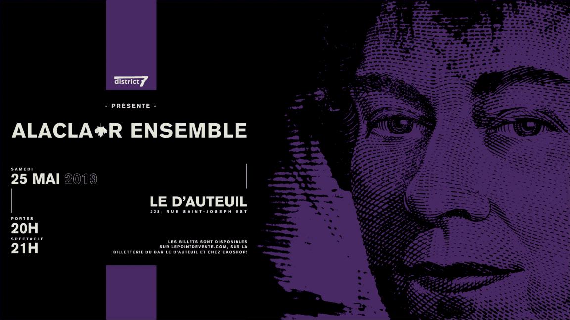 Alaclair Ensemble - Le D'Auteuil
