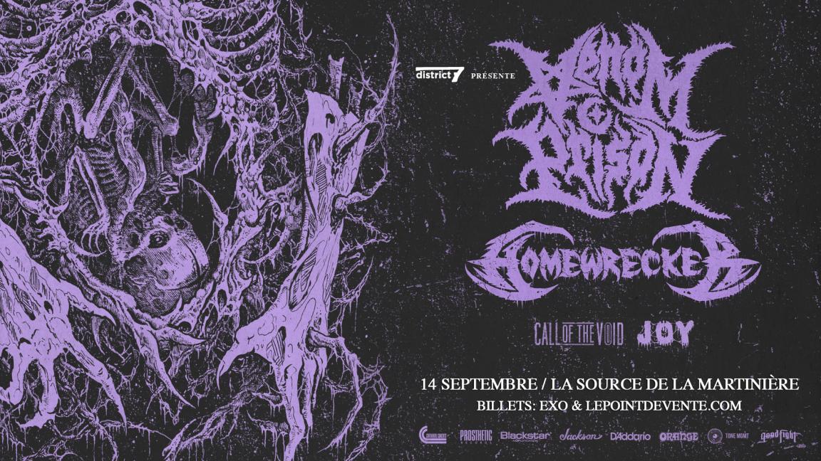 Venom Prison/Homewrecker