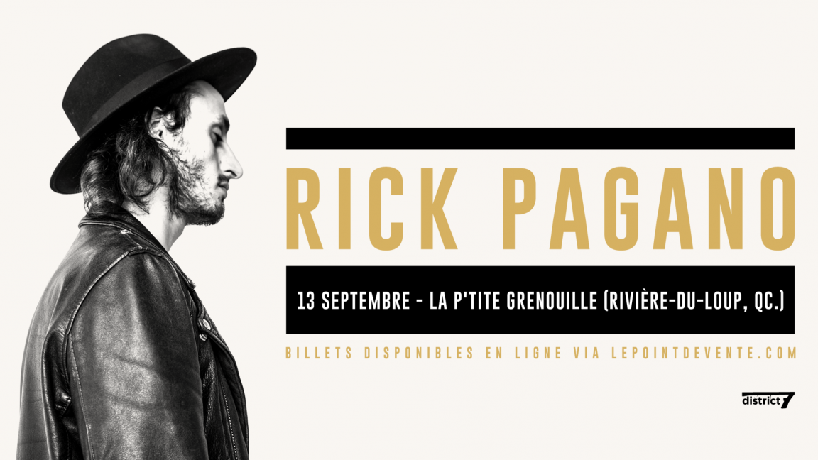 Rick Pagano - Rivière du Loup