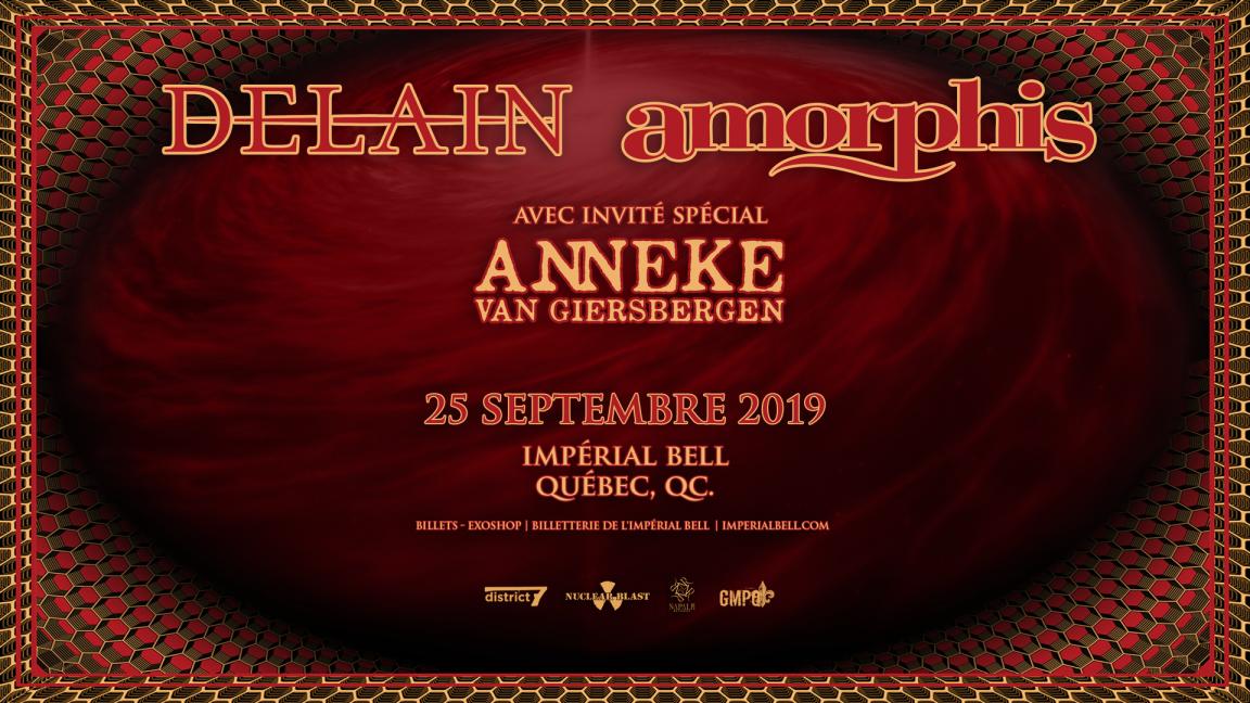 Delain + Amorphis