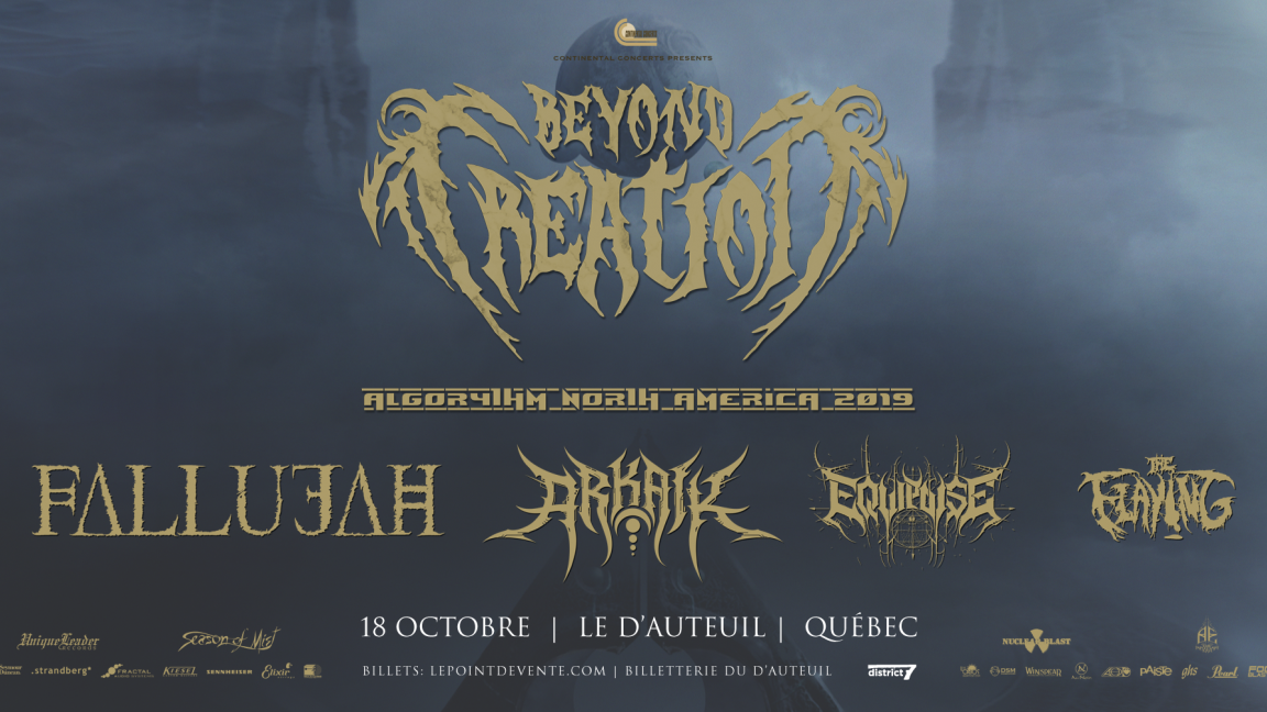 Beyond Creation - 18 octobre