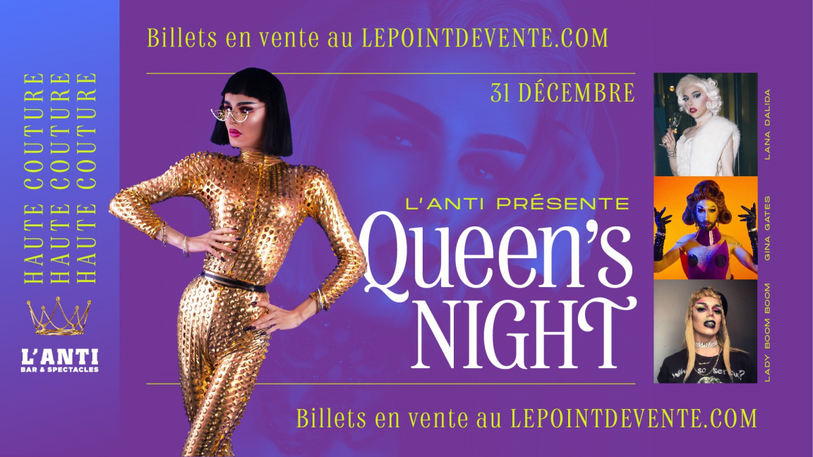Queen's Night St-Roch - Party du nouvel an !