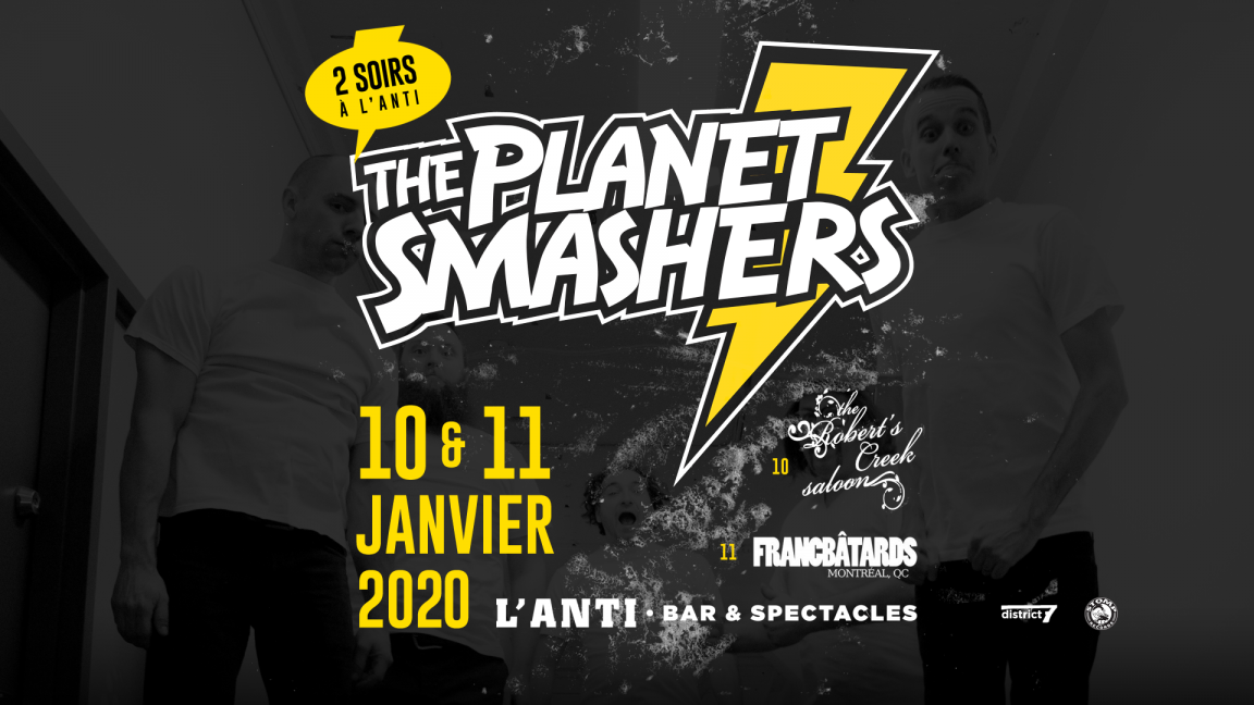 The Planet Smashers - 10 janvier