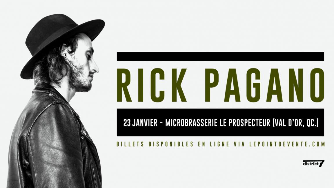 Rick Pagano - Val D'Or