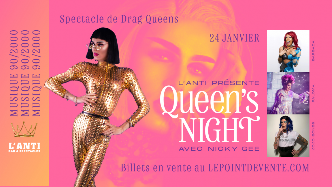 Queen's Night - Musique 90/2000