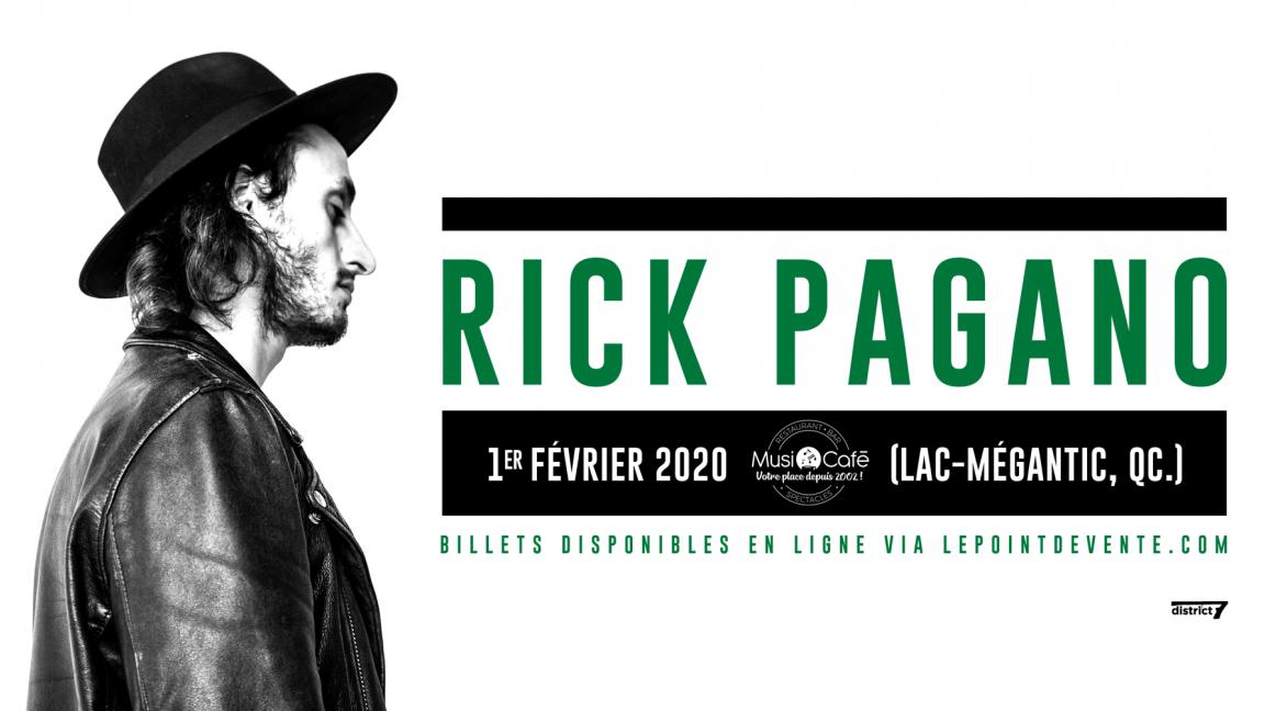 Rick Pagano - Lac-Mégantic