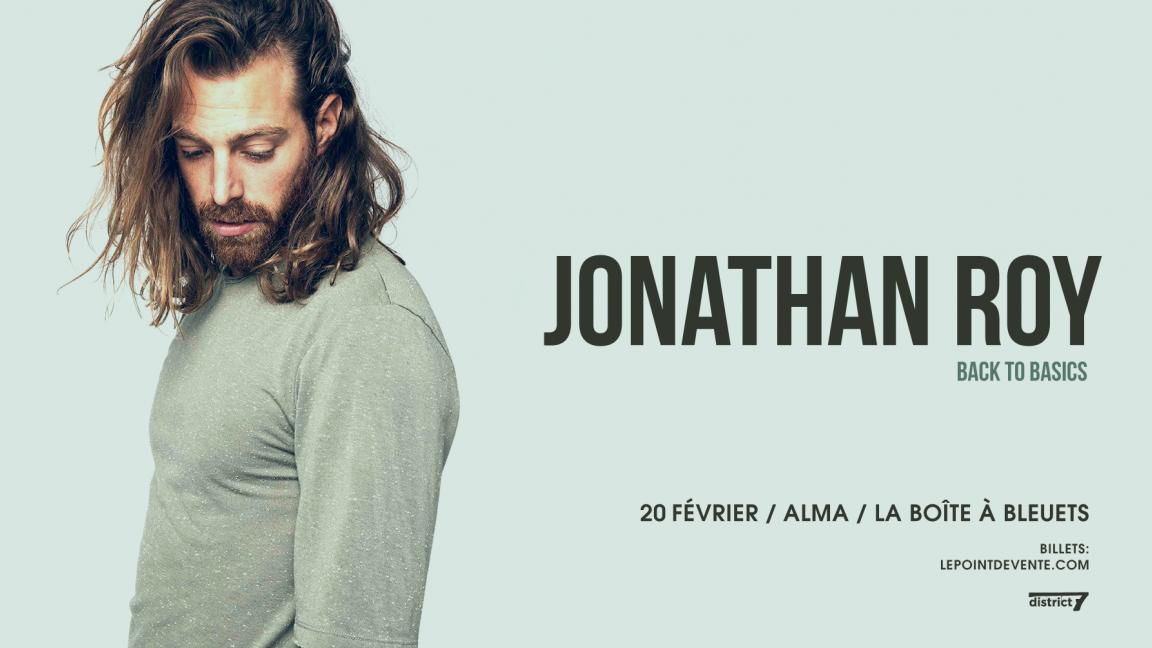 Jonathan Roy - Alma