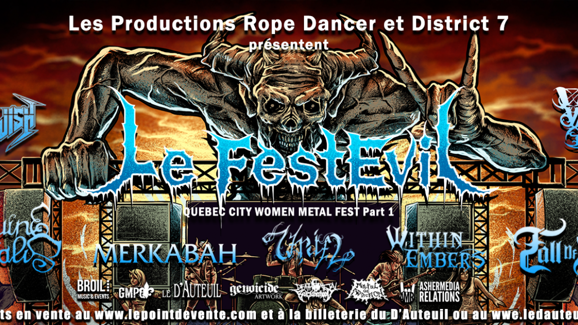 Le FestEvil – Quebec City Women Metal Fest part 1