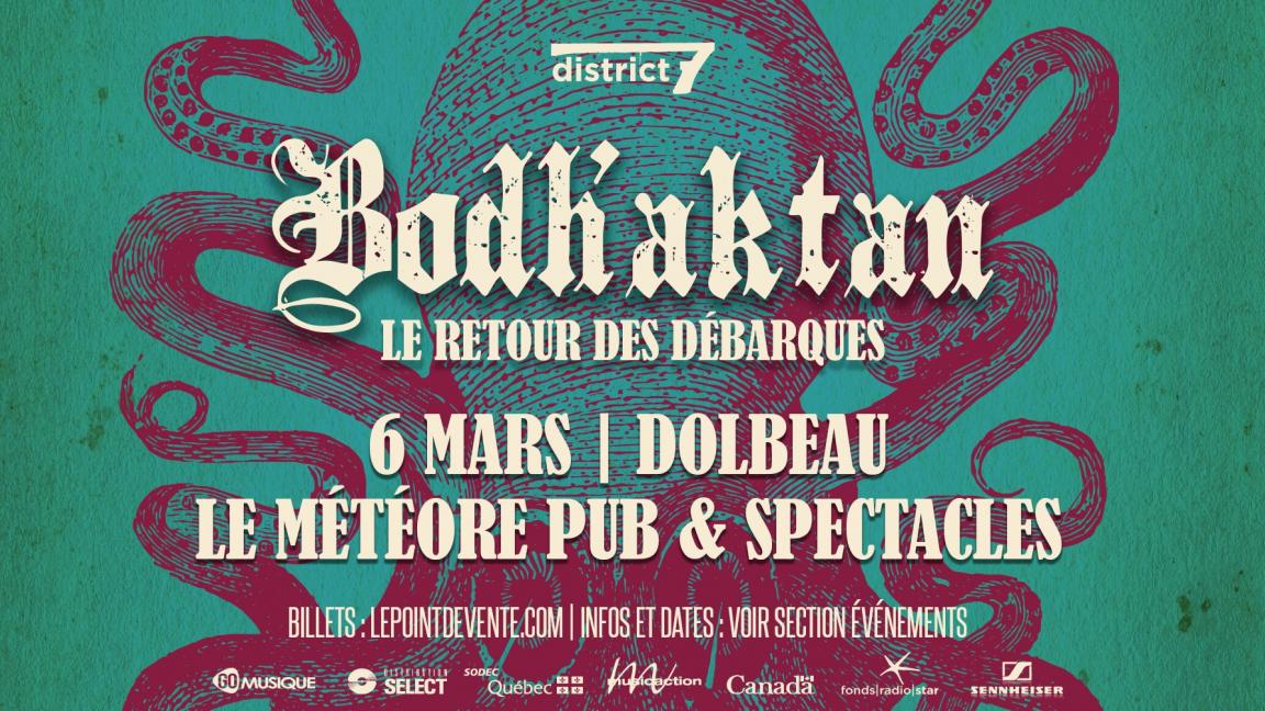 Bodh'aktan - Dolbeau