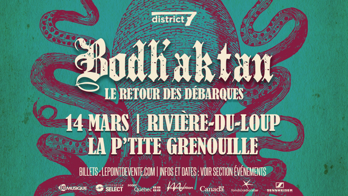 Bodh'aktan - Rivière-Du-Loup