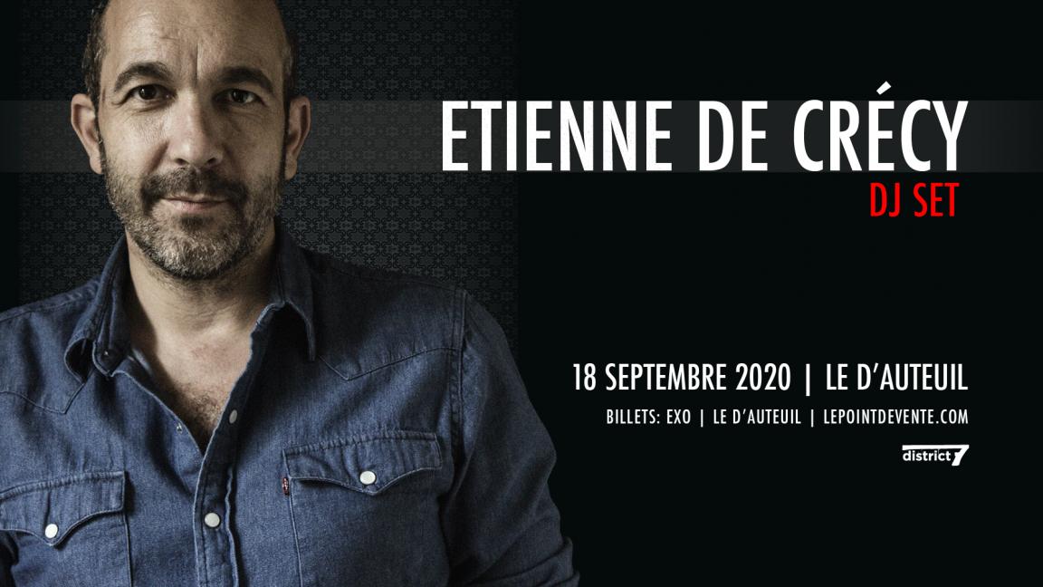 Etienne de Crécy [DJ set] à Québec