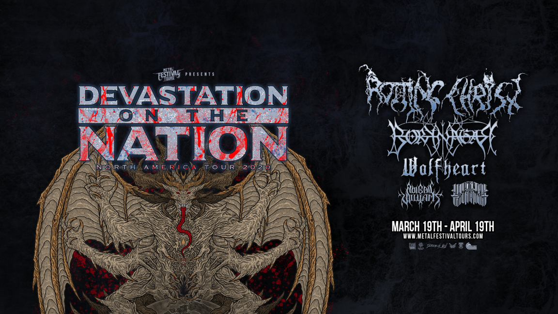 **REPORTÉ** Devastation On The Nation Tour 2020 - Québec