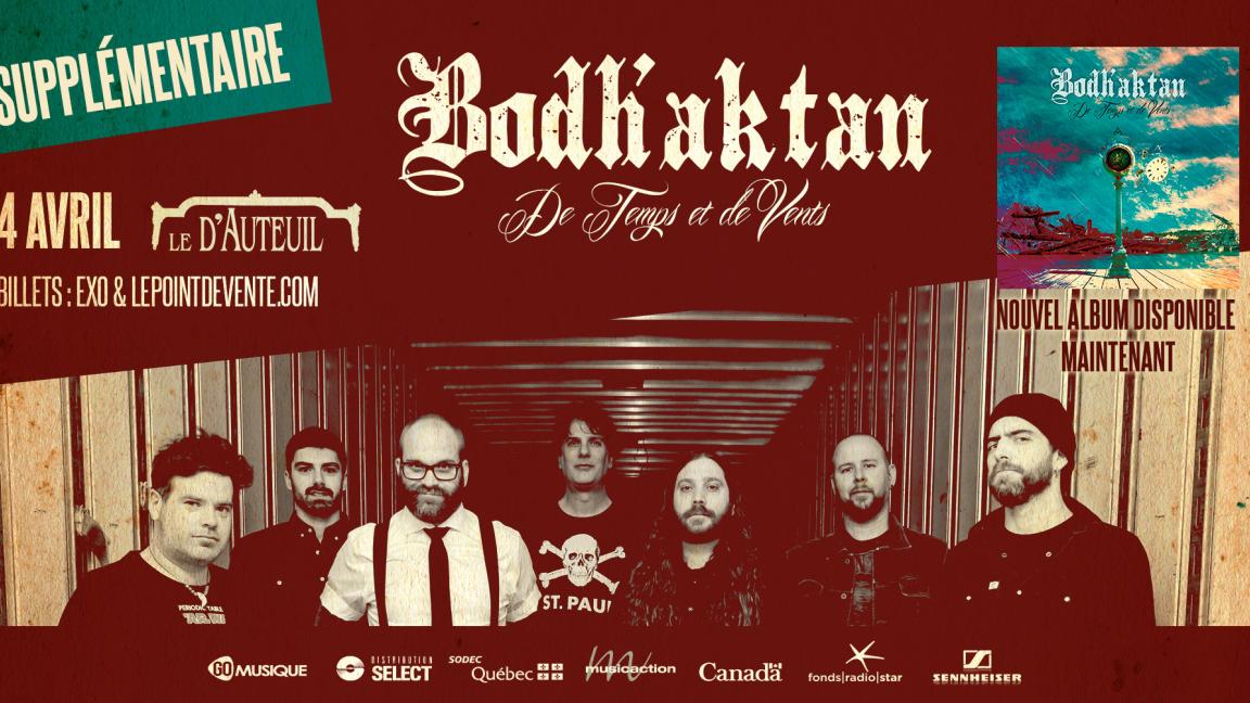 Bodh'aktan - Le D'Auteuil