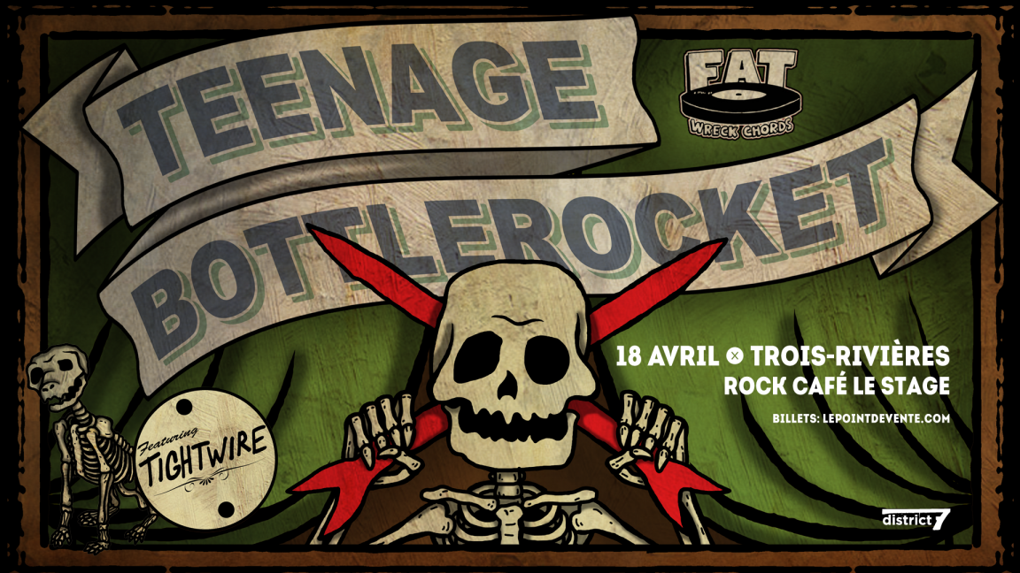 Teenage Bottlerocket + Tightwire