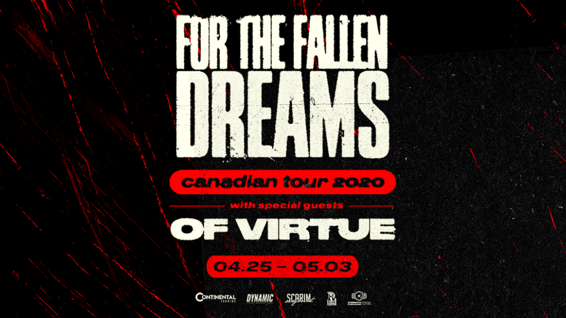 FOR THE FALLEN DREAMS avec OF VIRTUE / Québec