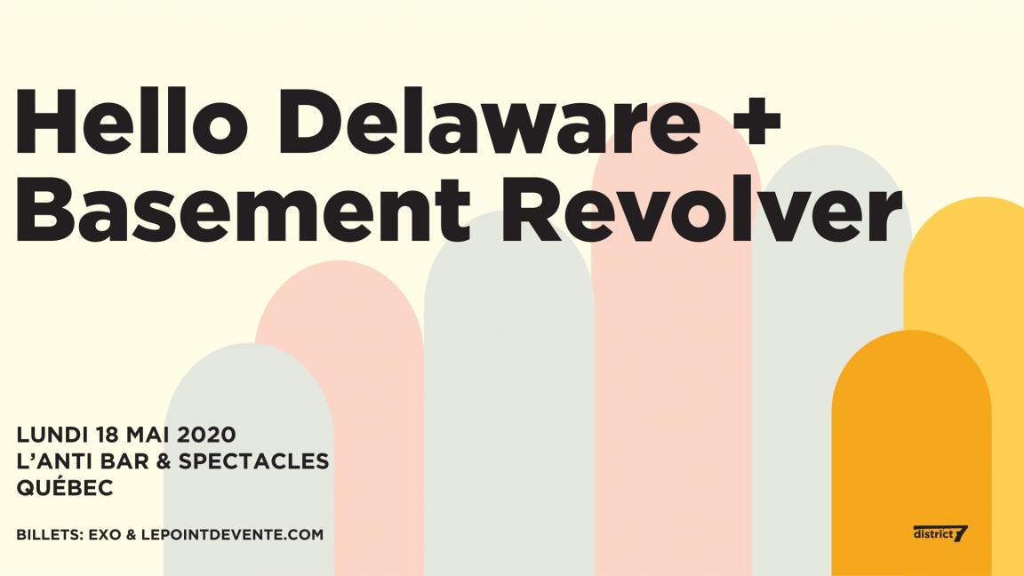 Basement Revolver x Hello Delaware
