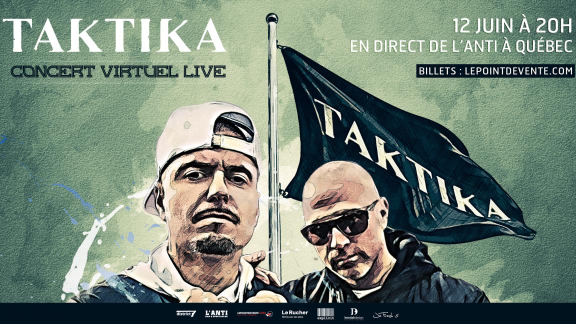 Taktika en concert virtuel live