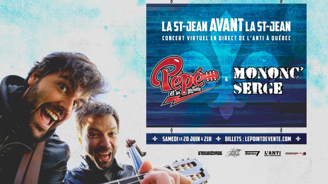 La St-Jean avant la St-Jean avec Pépé et Mononc' Serge