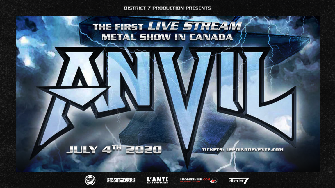 Anvil - 2nd virtual concert viewing