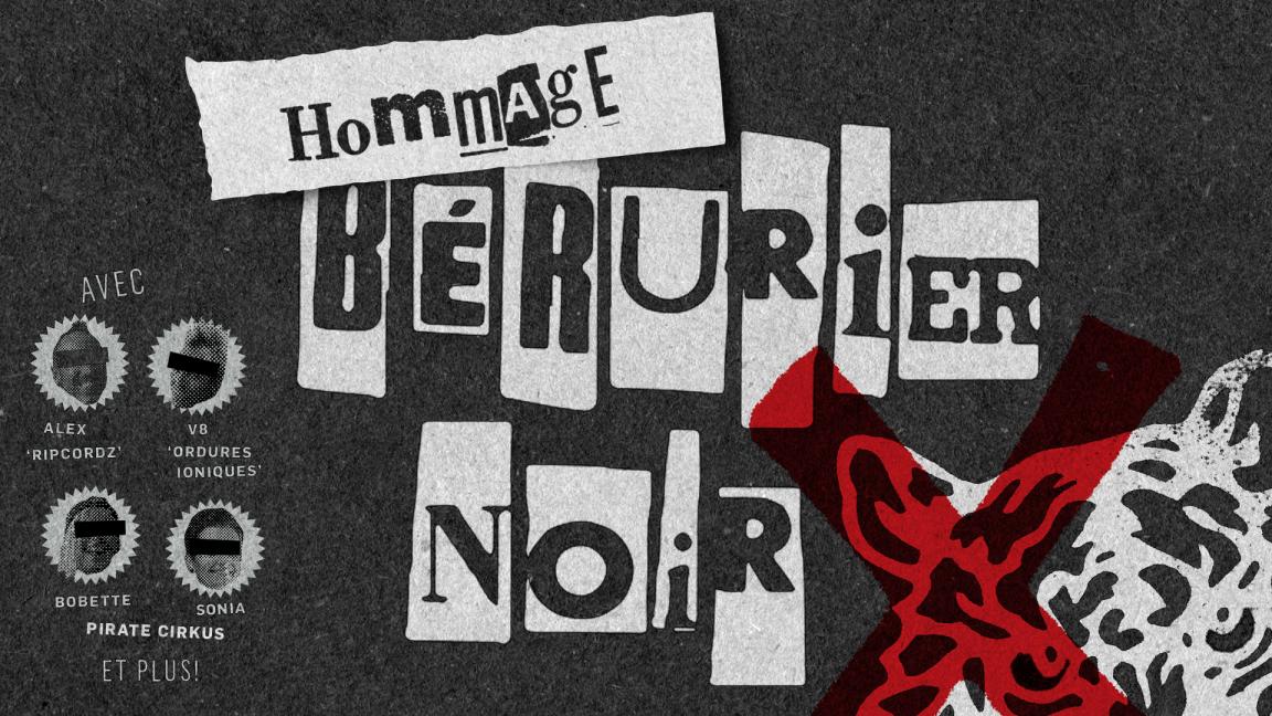 Hommage à Bérurier Noir (concert virtuel en direct)