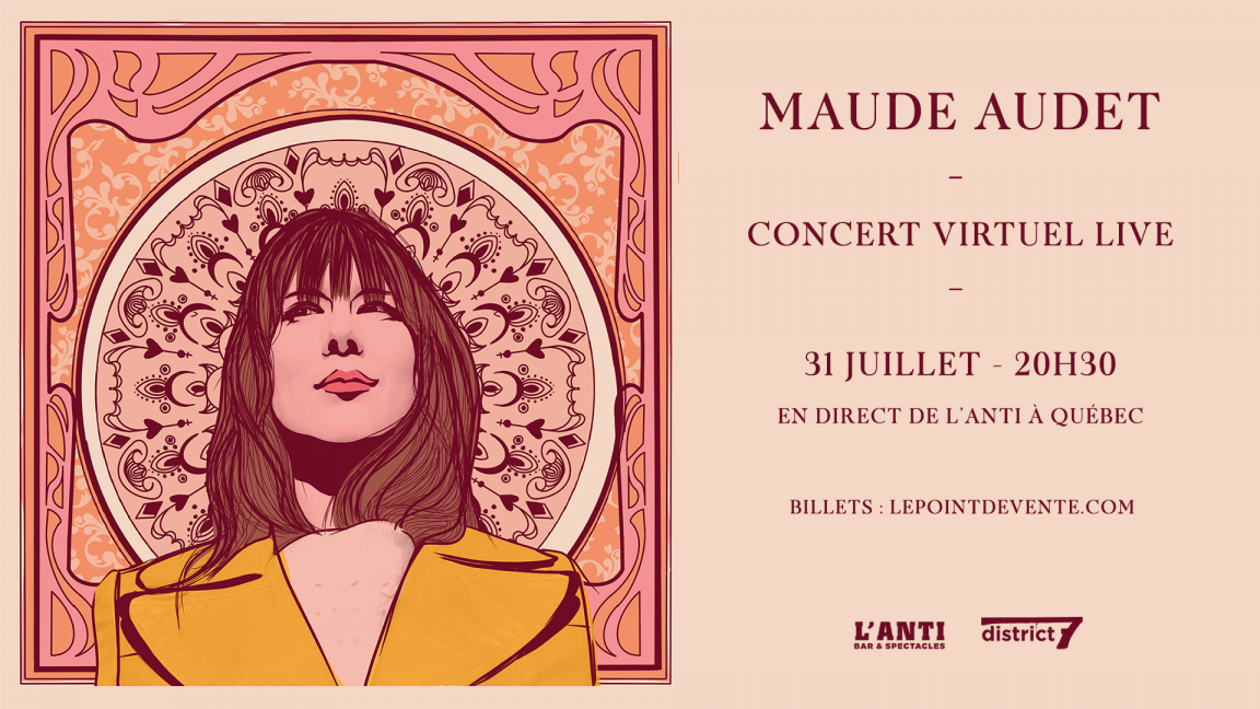 Maude Audet - Concert virtuel live