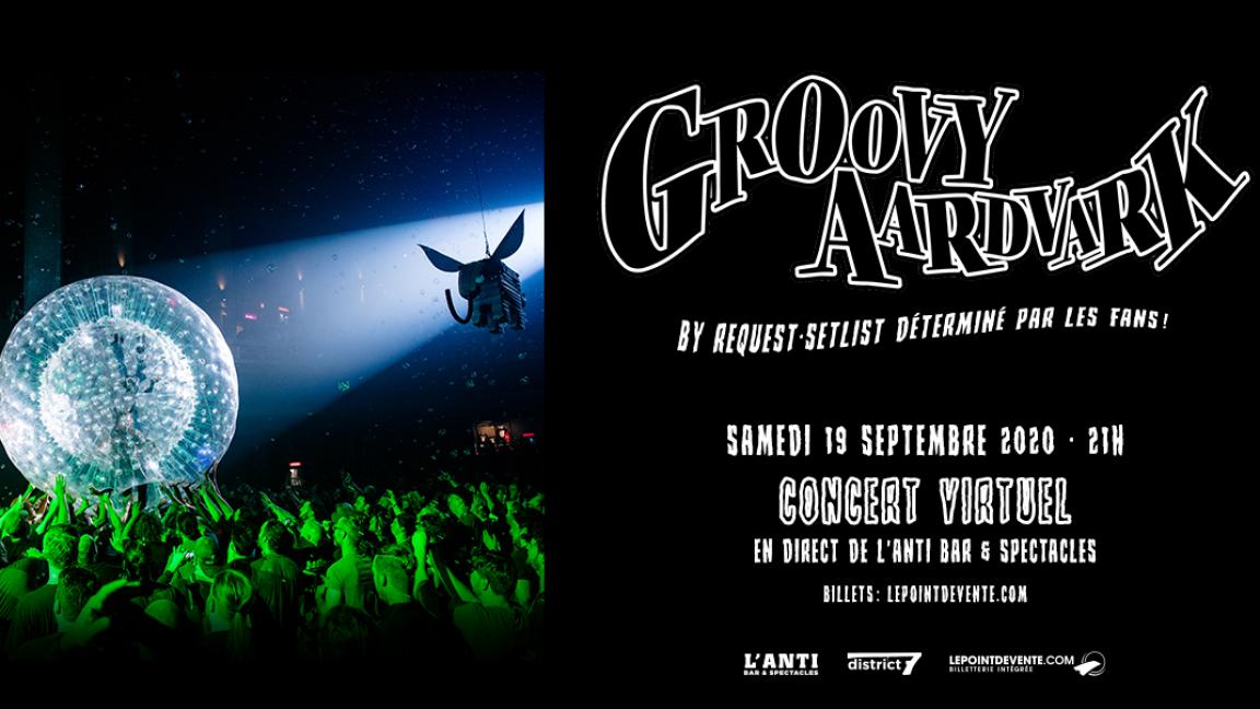 Groovy Aardvark - Concert virtuel en direct