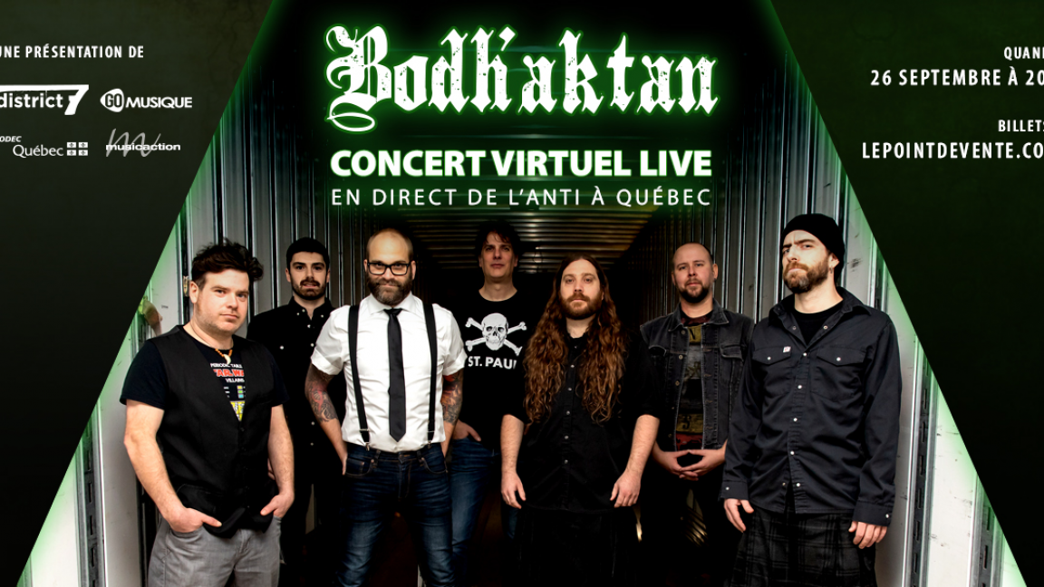 Bodh'aktan - Concert virtuel en direct
