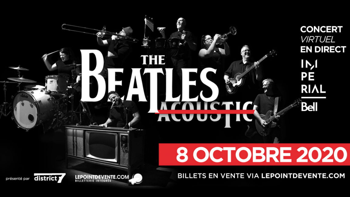 The Beatles Acoustic - Concert virtuel en direct