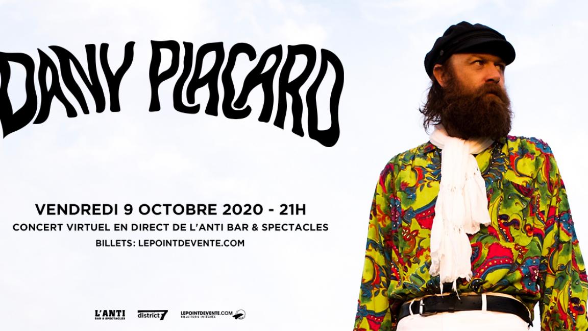 Dany Placard - Concert virtuel en direct