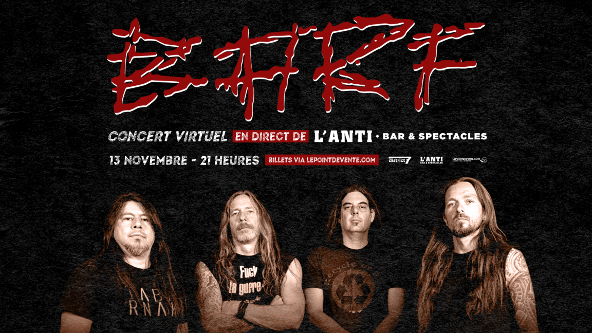 BARF - Concert virtuel en direct