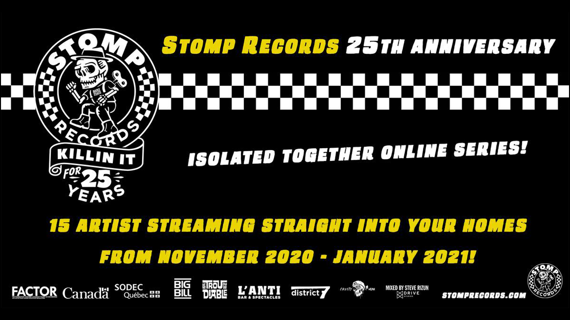 Stomp Records 25th Anniversary Online Series - Ultra Epic Super Festival Pass