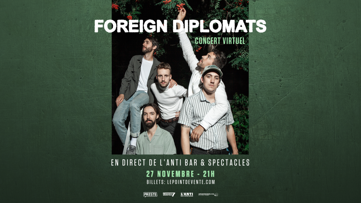 Foreign Diplomats - Concert virtuel en direct