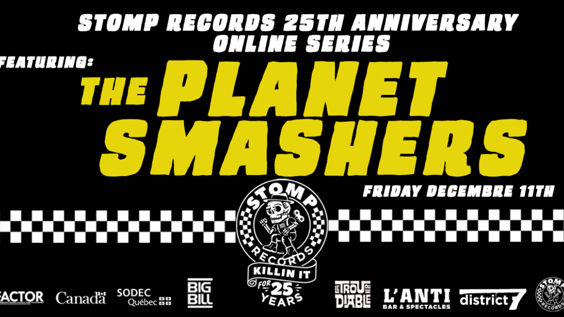 Stomp Records 25th Anniversary Online Series w/ The Planet Smashers