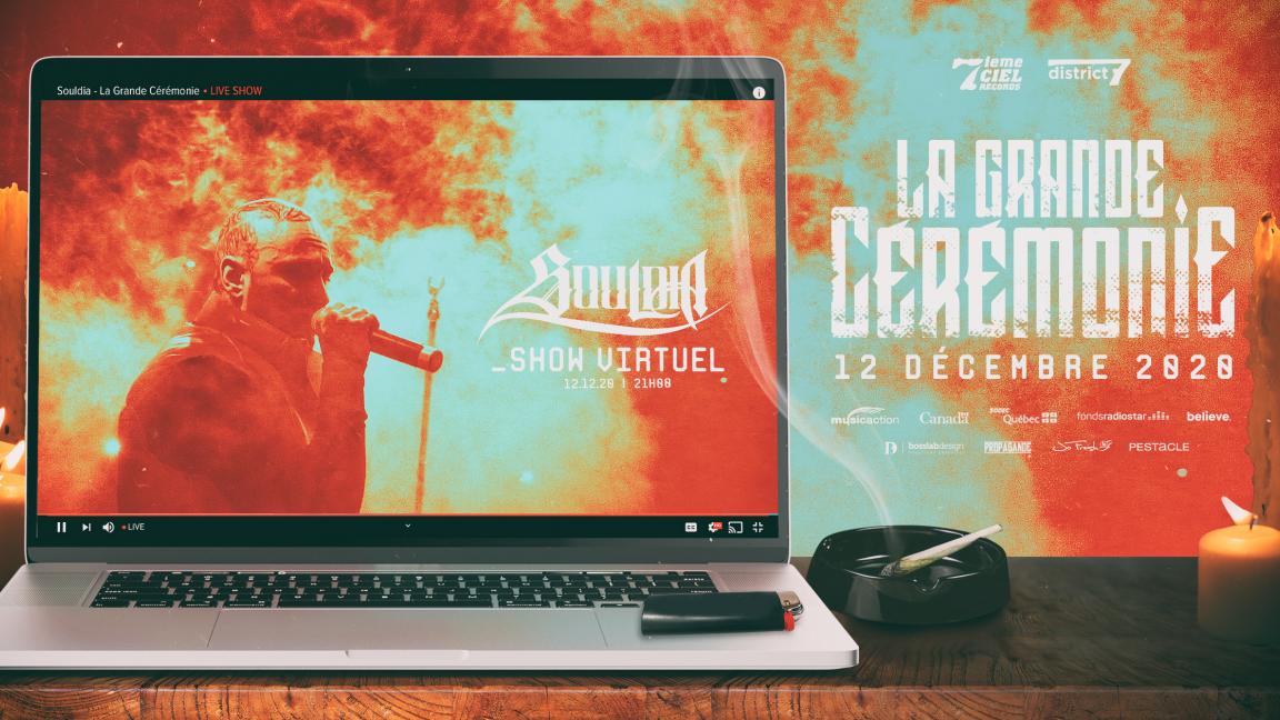Souldia - La grande cérémonie - Concert virtuel en direct