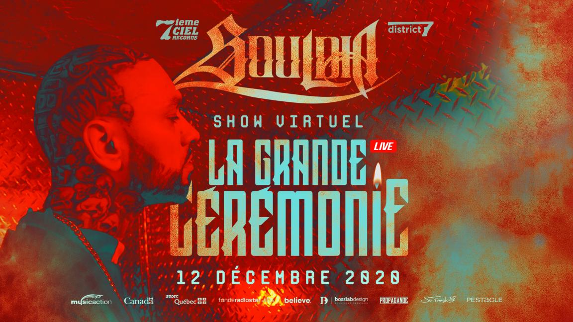 Souldia - La grande cérémonie - Concert virtuel (rediffusion)