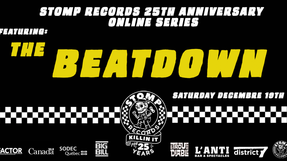 Stomp Records 25th Anniversary Online Series w/ The Beatdown