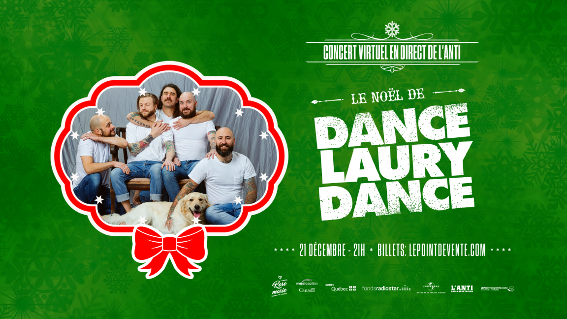 Le Noël de Dance Laury Dance - Concert virtuel en direct