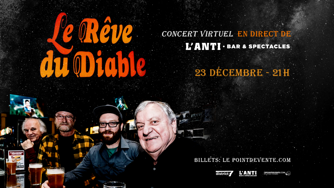 Le Rêve du Diable - Concert virtuel en direct