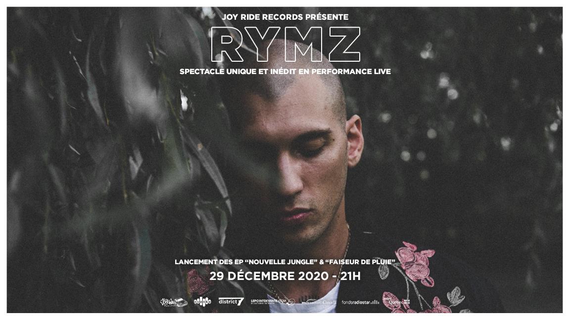 Rymz et invités en performance live virtuel
