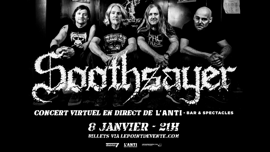 Soothsayer - Concert virtuel en direct