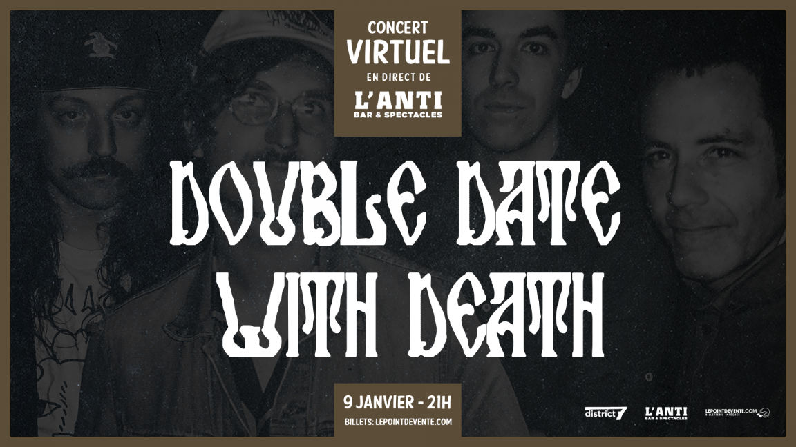 Double Date With Death - Concert virtuel en direct