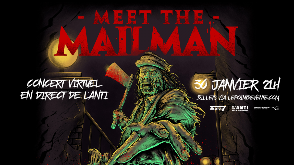 Meet The Mailman - Concert virtuel en direct