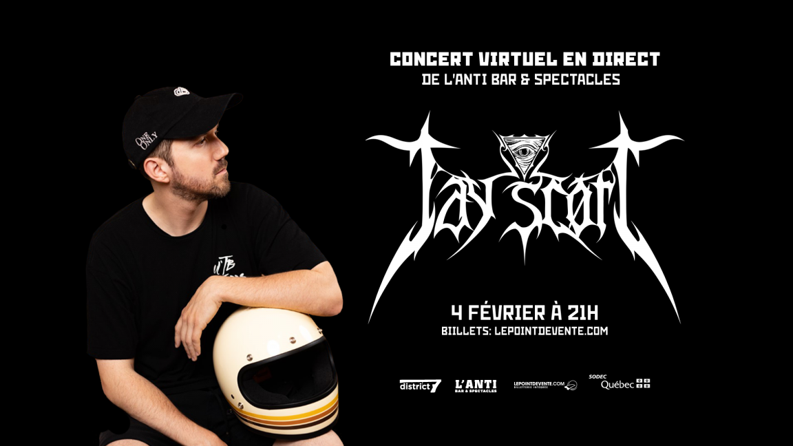 Jay Scott - Concert virtuel en direct