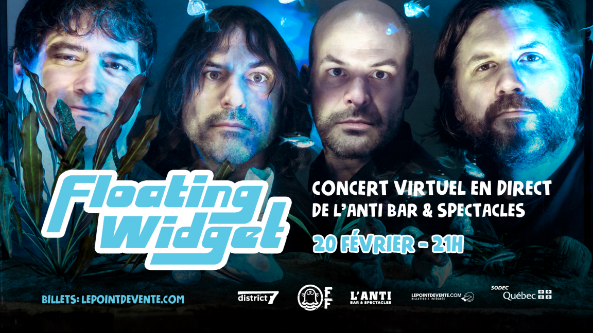Floating Widget - Concert virtuel en direct