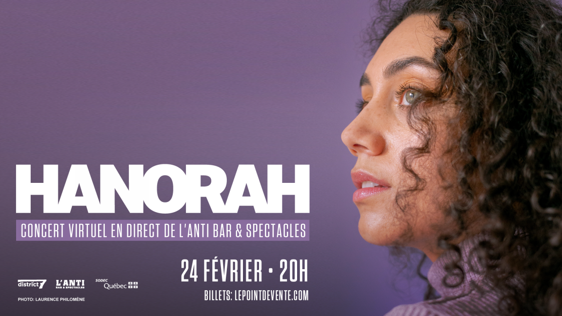 Hanorah - Concert virtuel en direct